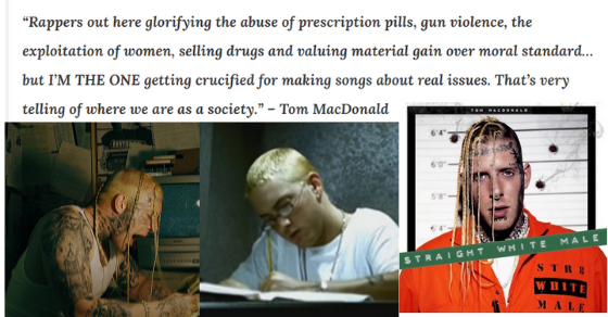 Rapper Tom Macdonald Climbs Music Charts on Message You'll Never Hear From Eminem