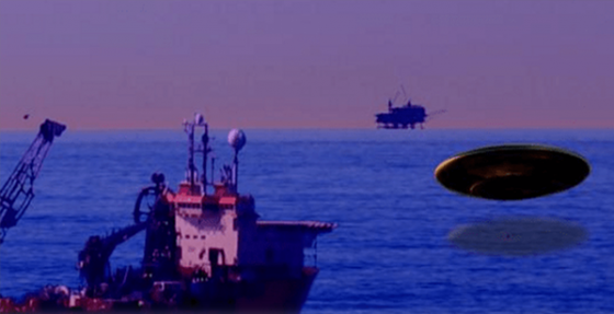 50 People Saw A UFO Blazing Out Of The Gulf Of Mexico